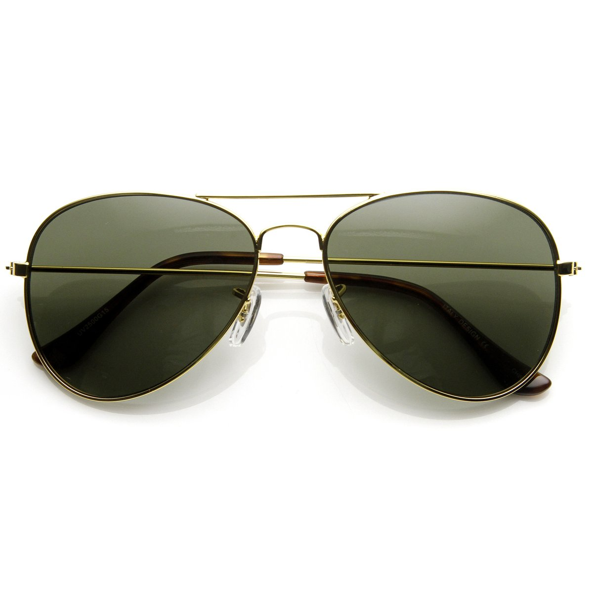 ORIGINAL CLASSIC METAL MILITARY AVIATOR SUNGLASSES 58MM (USG-ZERO16)