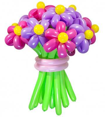 12 Balloon Flowers (4mua VOT-002BF)