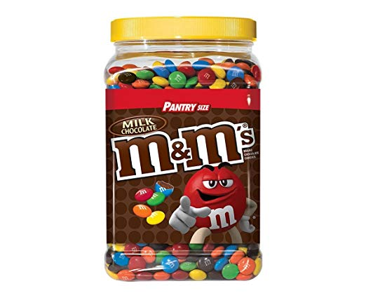 M&M's Milk Chocolate Pantry size 1,757.7g (4mua VOT-003F3)