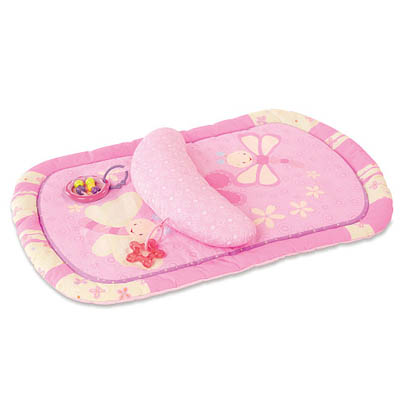 Bright Starts Tummy Prop and Play Mat For Baby Girl (bonmua ABG-033A1)
