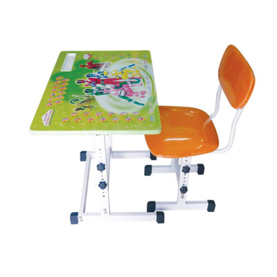 Pupil desk and chair for children over 10 years old (ABH-002)