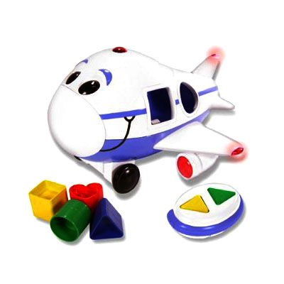 Jumbo the Jet Shape Sorter Remote Control Airplane (bonmua ACT-030)
