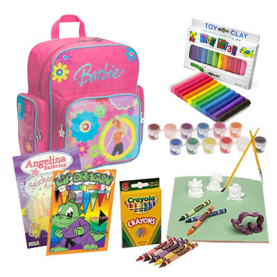 School Supplies for Kids 3 - 5 years old / Girl (ASS-001A)