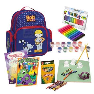 School Supplies for Kids 3 - 5 years old / Boy (ASS-001B)