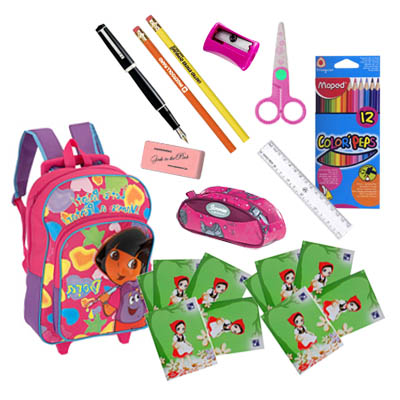 School Supplies for Children 6 - 10 years old / Girl (ASS-002A)