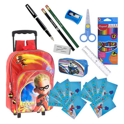 School Supplies for Children 6 - 10 years old / Boy (ASS-002B)
