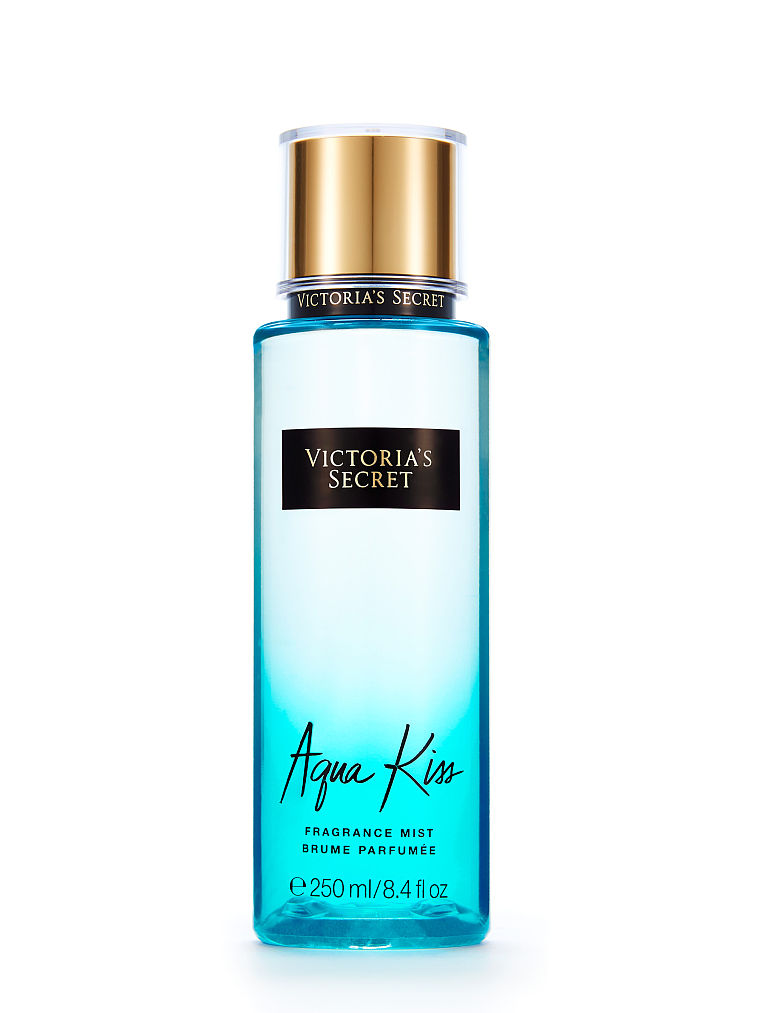 Aqua Kiss Fragrance Mist Victoria&#39s Secret 250ml (4mua HPE-VSFM15AQK)