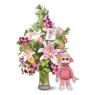 Flowers and Gifts send to someone you care and love (4mua BMS-FNG07A)