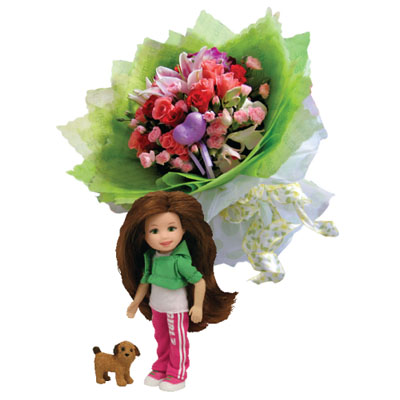 Flowers and Gifts send to someone you care and love (4mua BMS-FNG20)
