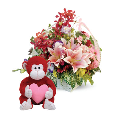 Flowers and Gifts send to someone you care and love (4mua BMS-FNG21)