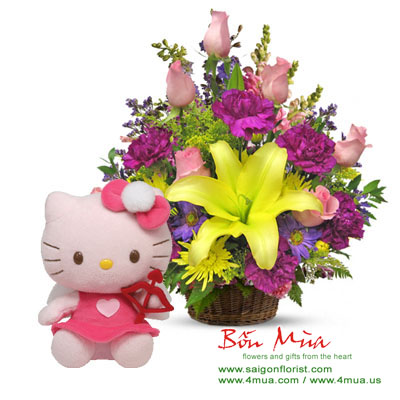 Flowers and Gift (4mua BMS-FNG32)