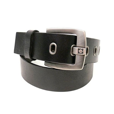 Reaction Kenneth Cole Black Leather Belt (bonmua CTE-KC4A)