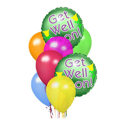 Get Well Balloon Bunch (the FTD® EO-6035)