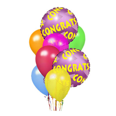 Congratulations Balloon Bunch (the FTD® EO-6036)