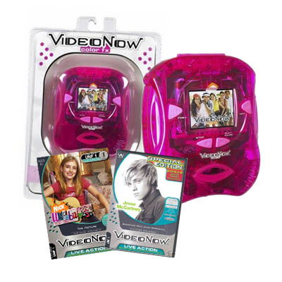 Diva VideoNow Personal Video Player For Girl with 2dics (bonmua EVT-DI1)