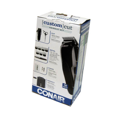 [Custom] Cut CONAIR 15Piece Haircut Kit (4mua HHC-CA1)