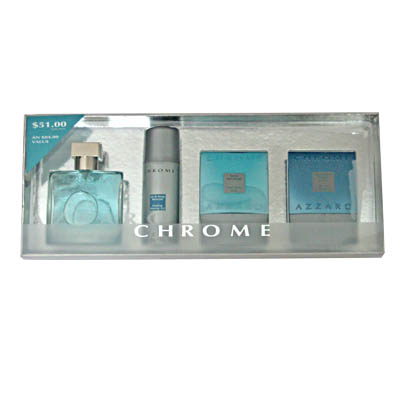 Azzaro Chrome Perfume Gift Set For Men / EDT 50ml (bonmua HPE-AZ1A1)