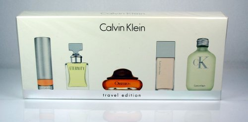 Calvin Klein  Miniature Pefume Gift Set for Women / 5 Pieces 30,2ml (4mua HPE-CK24H)