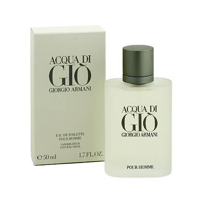 Acqua Di Gio Giorgio Armani Perfume for Men / EDT (bonmua HPE-GA1)