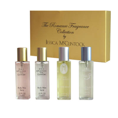The Romance Fragrance Collection By Jessica Mc Clintock gift set for Women 30ml (bonmua HPE-JM1)
