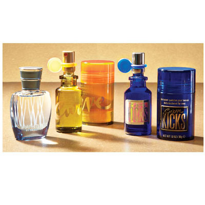 Men's Claiborne Gift Set Mini Fragrance 5 Piece (bonmua HPE-LC1M2)