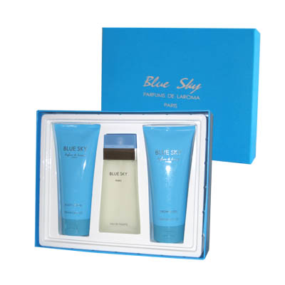 Blue Sky By Parfums De Laroma gift set for Women (bonmua HPE-PDL1B1)