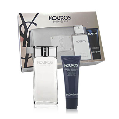 Kouros Yves Saint Laurent gift set for Men / EDT 100ml (bonmua HPE-YS2B1)