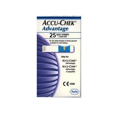 Accucheck Advantage Test Strips (bonmua HTT-AC02)