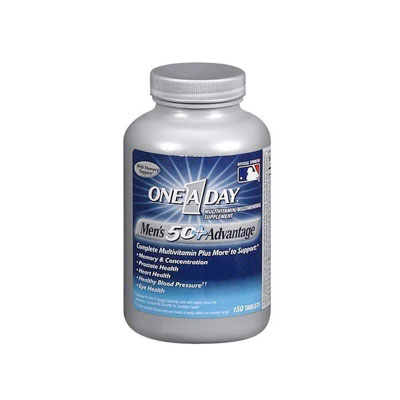 One A Day Men&#39s Health Formula 250 Tablets (4mua HVI-001B)