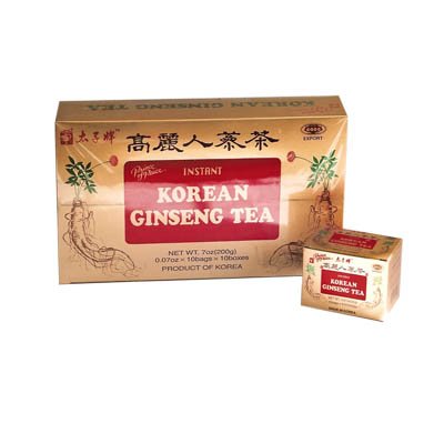 Korean Ginseng Tea 100 bags (bonmua HVI-GS1)