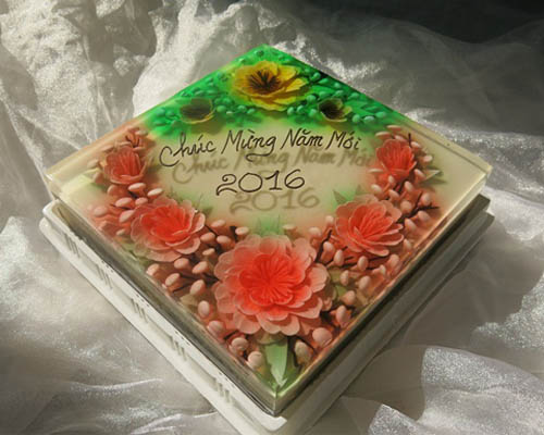 3D JELLY CAKE 22cm x 22cm/ SaiGon only (4mua VBA-JE0322S)