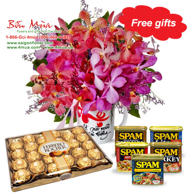 Mother Day gifts - Reunion / SaiGon only (4mua MO3-2014)