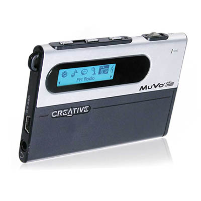 Creative MP3 Muvo V200/Slim 1GB (bonmua MP3-CR1B)