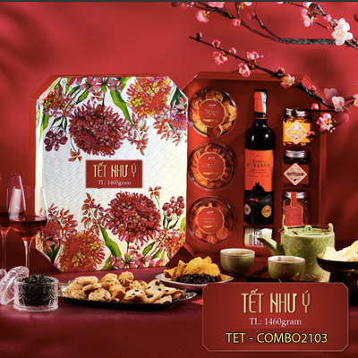LUNA NEW YEAR GIFTS 1460GR / Special (4MUA TET-COMBO2103)