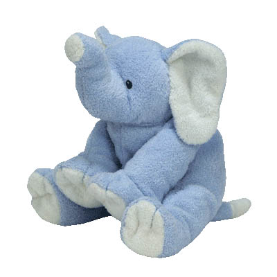 TY Pluffies Winks the Elephant 25cm (4mua USA-TY11WIN)