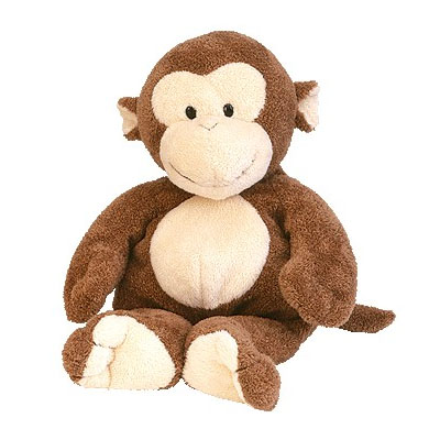 TY Pluffies - DANGLES the Monkey 25cm (4mua USA-TY15DAN)