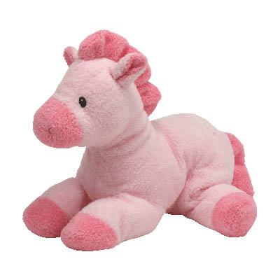 TY My Baby Horsey Pink Stuffed Animal for Girl (bonmua USA-TY16AG)