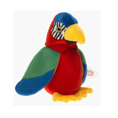 TY Beanie Babies - Jabber the Parrot 23cm (4mua USA-TY20A)