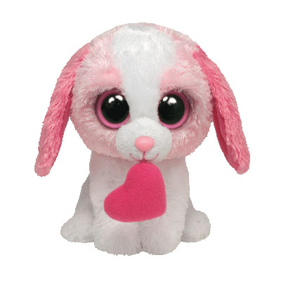 TY Beanie Boos - COOKIE Dog w/heart 15cm (4mua USA-TY5CO)