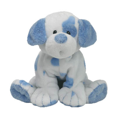 TY Pluffies Baby Pups Blue 25cm (4mua USA-TY5FB)