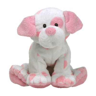 TY Baby Pups Pink Stuffed Animal for  Girl (bonmua USA-TY5FG)