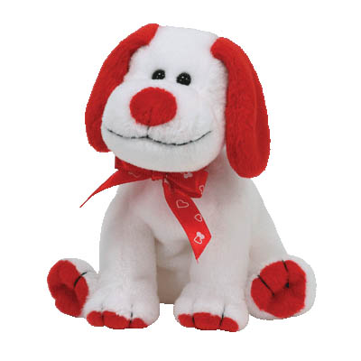 TY Beanie Baby - Heartbeat the Dog 15cm (4mua USA-TY5P)