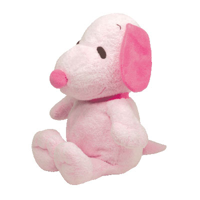 Snoopy pink body by TY Pluffies 28cm (4mua USA-TY5QG)