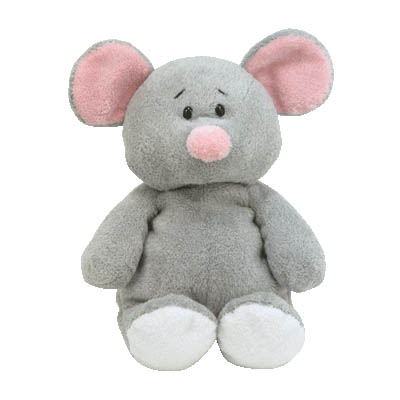 Squeakies the Mouse TY Pluffies Collection 25cm (4mua USA-TY6A)