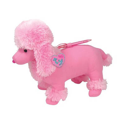 TY Pinkys Scribbly the Dog 34cm (4mua USA-TY7D)