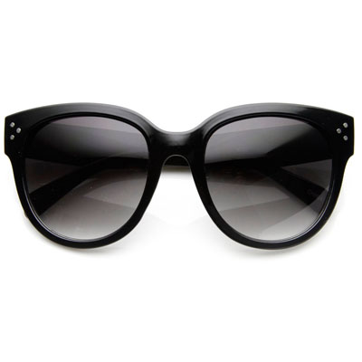 OVERSIZE WOMENS DESIGNER CAT EYE SUNGLASSES (4mua USG-ZERO01)