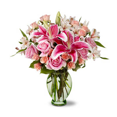 Delightful Romance flowers Bouquet of Love & Romance of Valentine's Day (bonmua VAO-011)