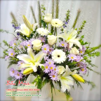 Cherished Moments Arrangement (4mua® VFU-AR007)