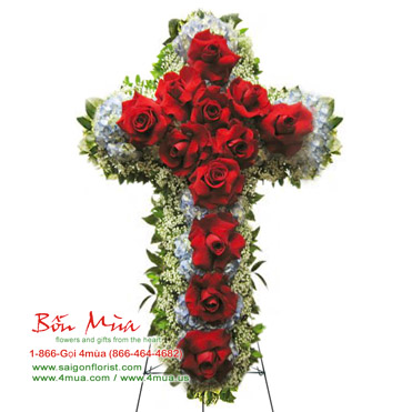 Roses Cross (4mua® VFU-CR013)