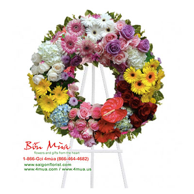 Splendor and Peace Wreath (4mua® VFU-W060)